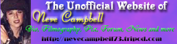 Neve Campbell Unofficial Website